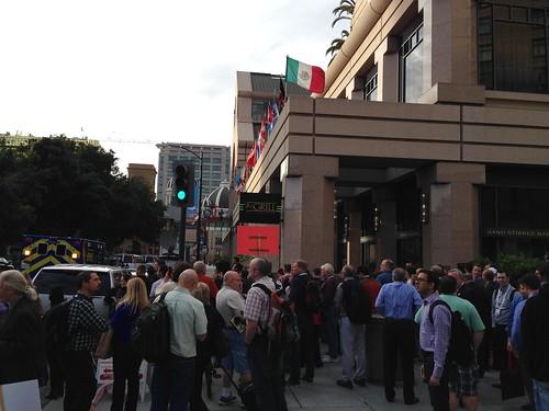 KXL protest, San Jose IMG_2523 The Fairmont San Jose
