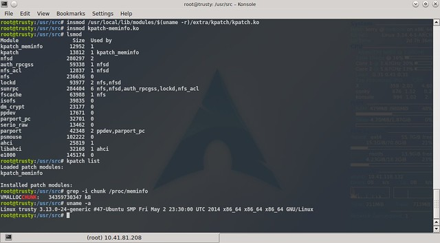 kpatch on Ubuntu 14.04 LTS
