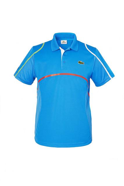 01 LACOSTE John Isner Roland Garros 2014 DH7671 DK2 © LACOSTE