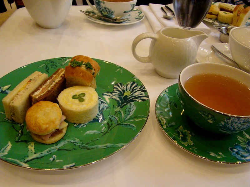 King Edward Hotel afternoon tea