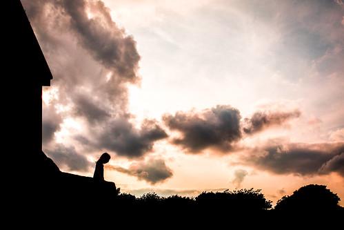 street ireland sunset dublin silhouette robertotaddeo