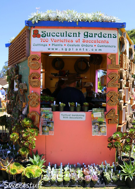 Succulent Gardens booth