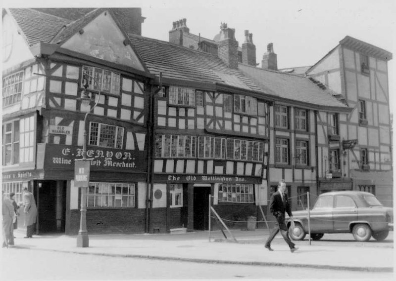 """Old Shambles"", Old Market Place, Manchester, May 1958"