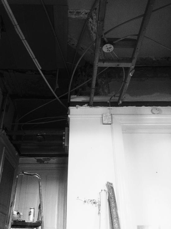 renovering av hallen