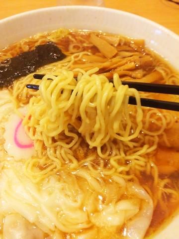 大宮大勝軒,ワンタン麺