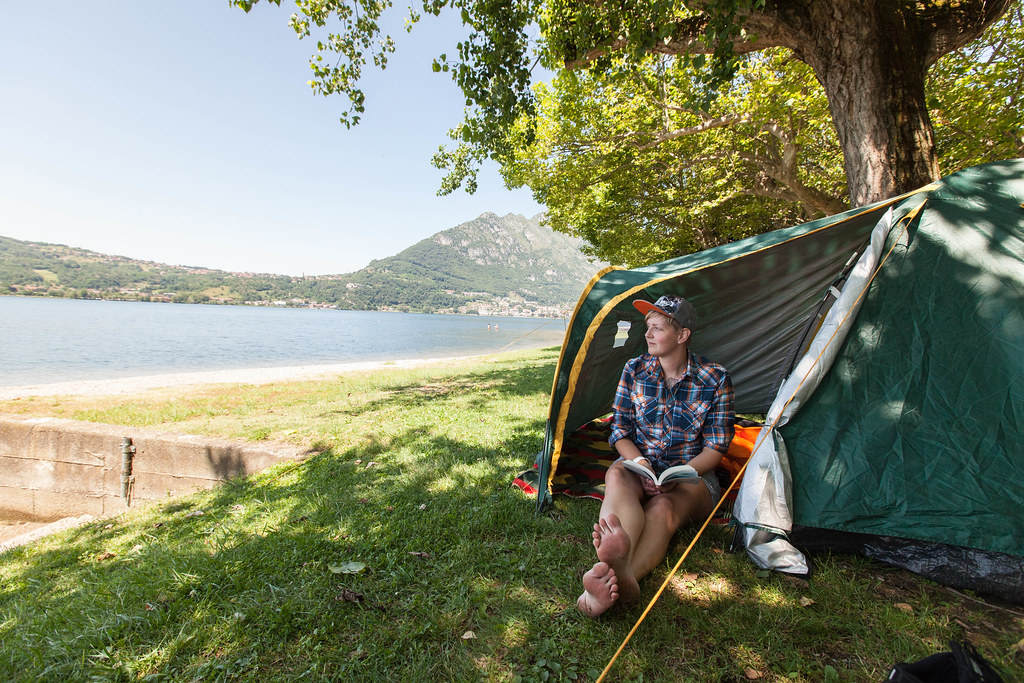 Camping in Como