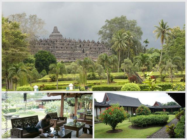 Manohara Hotel Borobudur, Yogyakarta - views