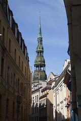 Pēterbaznīcas tornis, 03.04.2011.