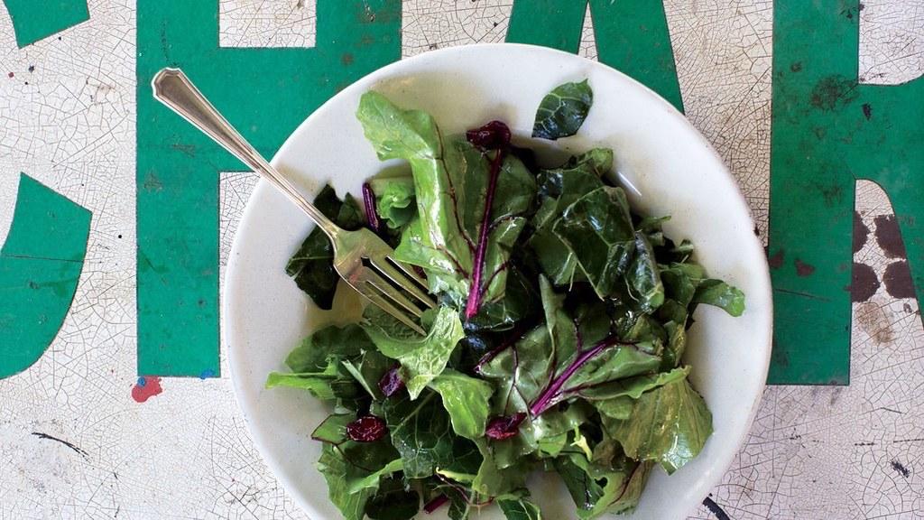 hardy-greens-with-lemon-garlic-vinaigrette