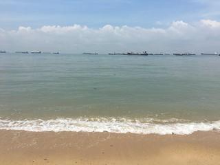 Castle Beach @ East Coast Beach 406 मीटर की लंबाई के साथ समुद्र तट की छवि. singapore