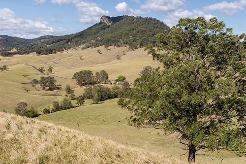Mograni Creek and Mograni Mountain from Mograni Lookout