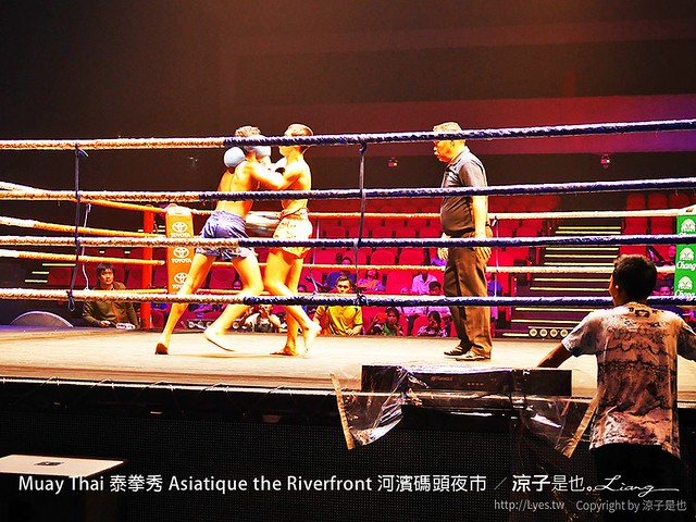 Muay Thai 泰拳秀 Asiatique the Riverfront 河濱碼頭夜市 27