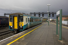153367 at Cardiff Central