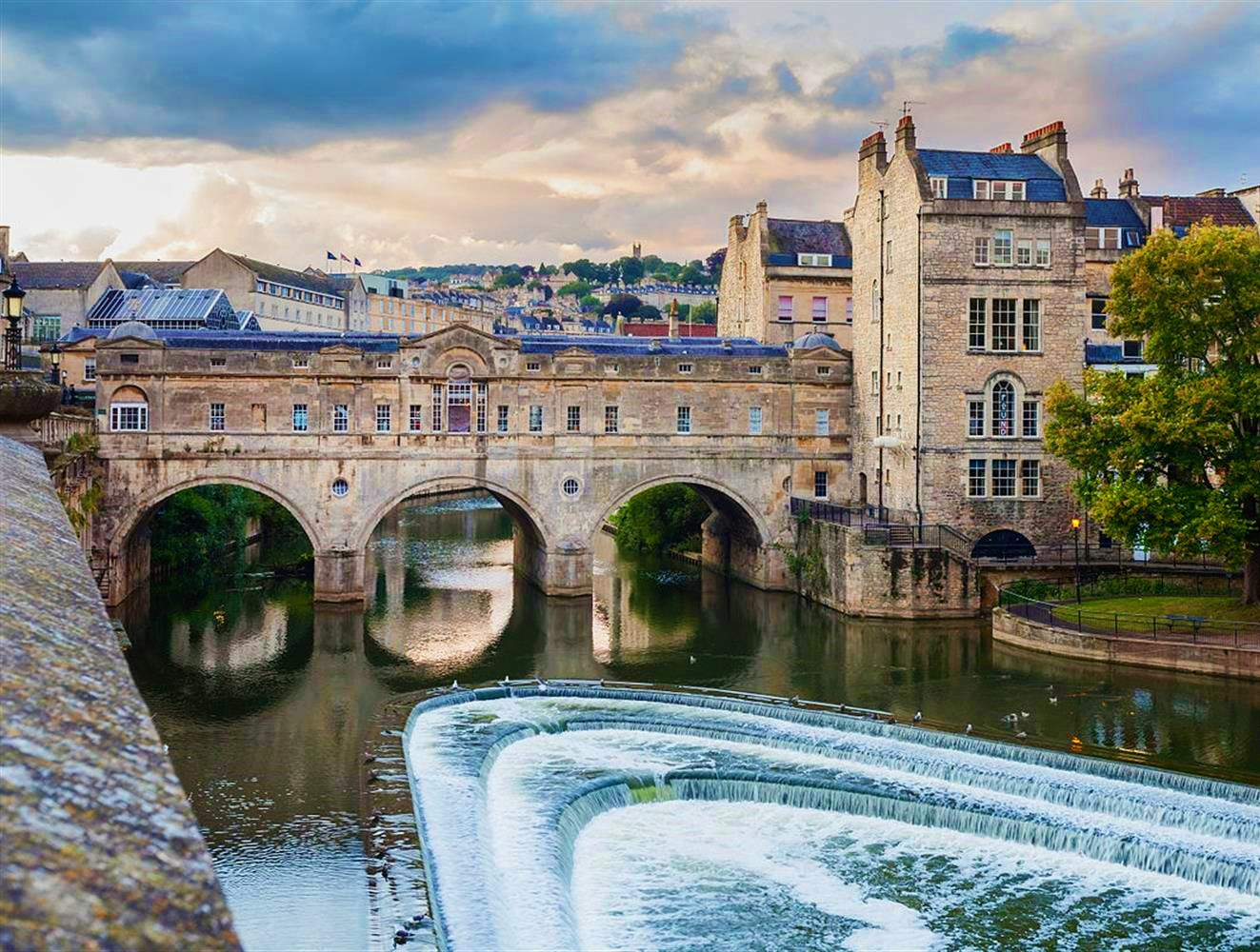 Pulteney Bridge, Bath, England. Credit Diego Delso