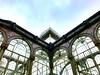 Palacio de cristal #iphone7 #takenwithaniphone7 #palaciodecristal #madrid #retiro #park #architecture #glass #blue #sky