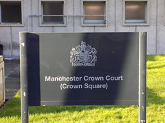 The Sign for Manchester Crown Court, Spinningfields