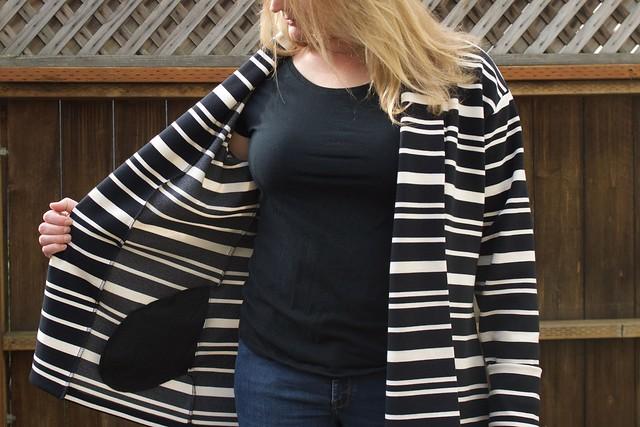 striped Oslo pocket