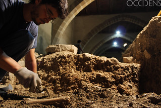 Los trabajos arqueológicos continúan en la catedral navarra.