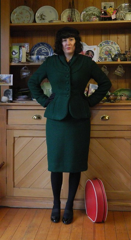 Vintage Suit made from McCall's 8813 and Simplicity 3581