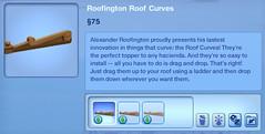Roofington Roof Curves