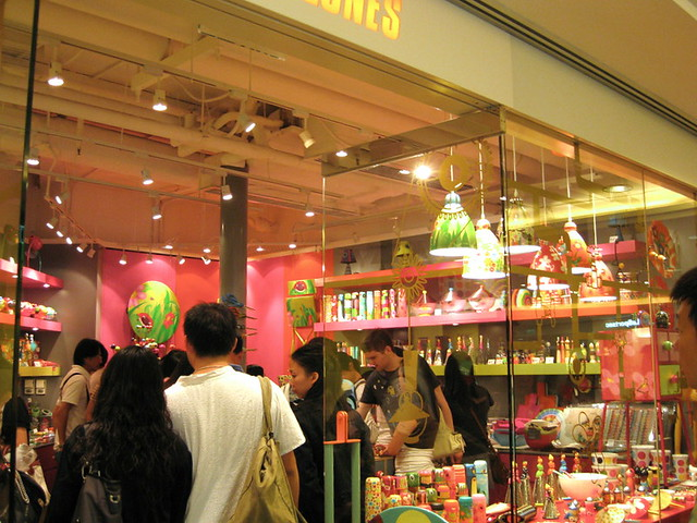Pylones at Harbour City