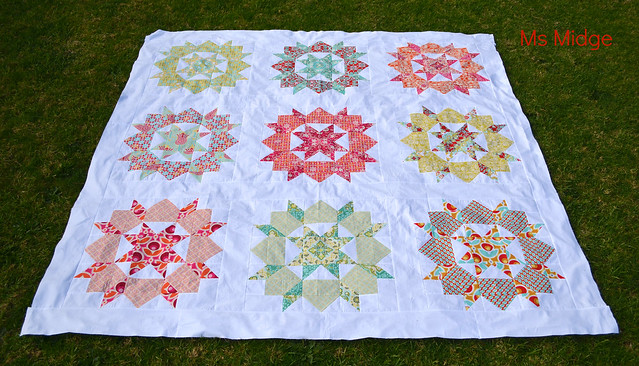 Finished Swoon Quilt Top