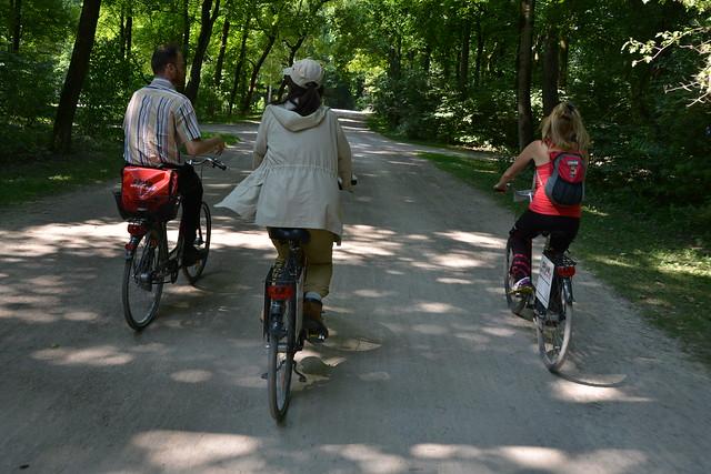 Biking Munich