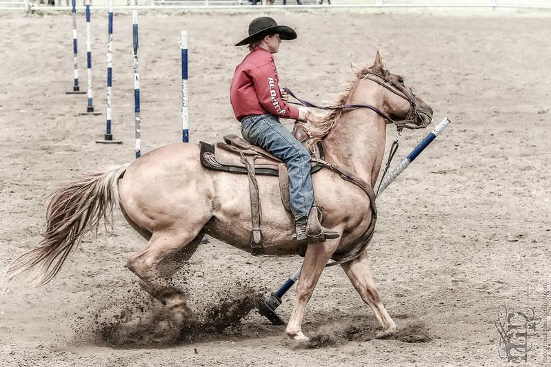 Gooseberry Lake : 4-H Rodeo 2013 : Wyatt : No Time