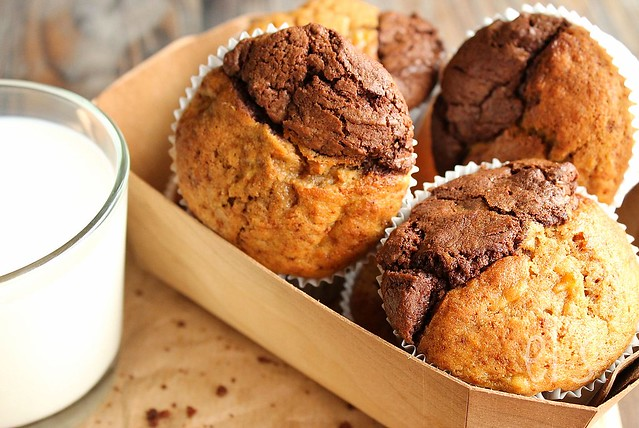 opskrift muffins med banan