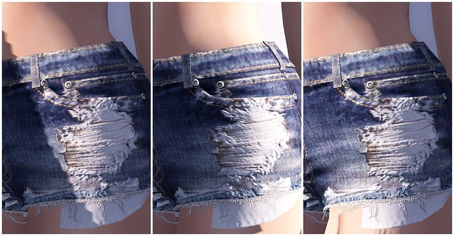 monso - my studded shorts; materials!