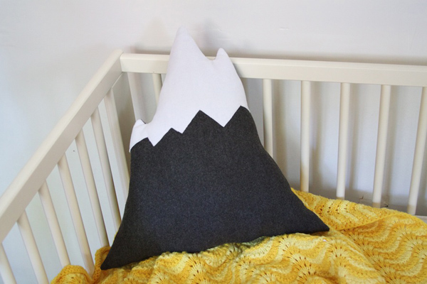 mountain pillow