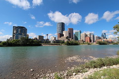 Downtown Calgary returning to normal.