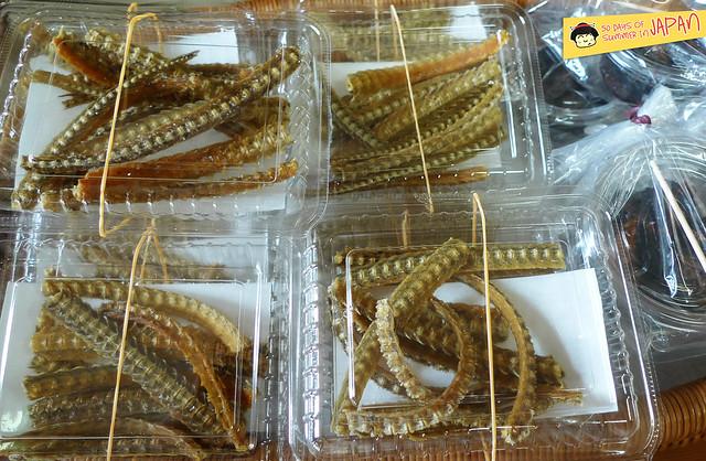 Kawagoe Day Trip - Tobu Koedo Bus Loop - Stop T11 T12 T13 - eel bone snack