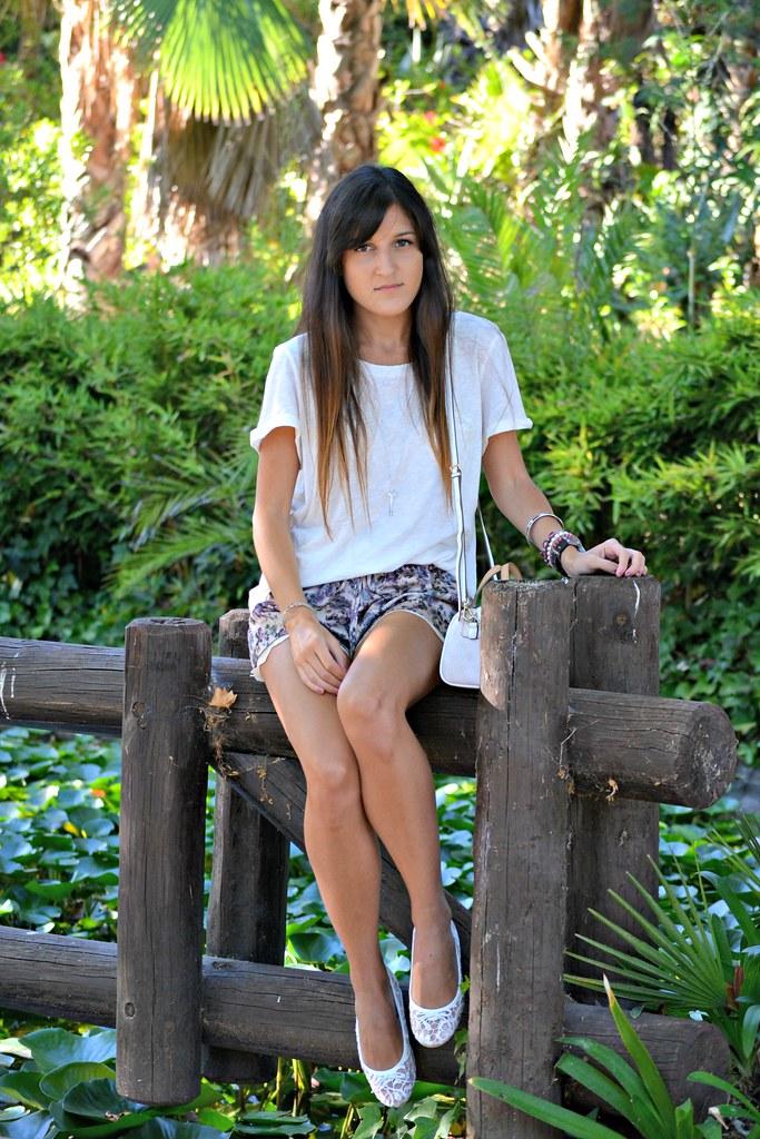 zara shorts 1