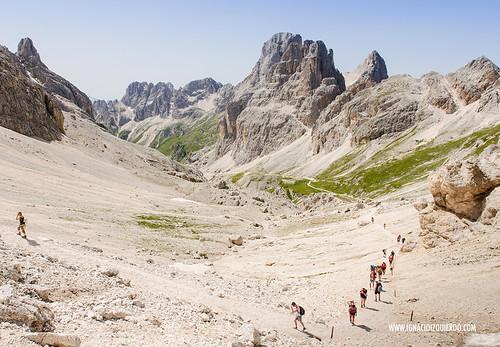 Dolomites - Val di Fassa - Vinicio Capossela at Vajolet 24
