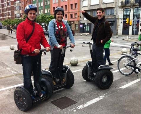 Recorriendo Gijón en Segway