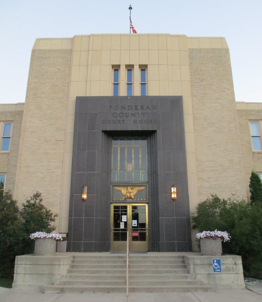Montana pondera county ledger - Pondera County Courthouse Detail Conrad Montana