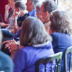Attentive audience in one of our reading workshops |