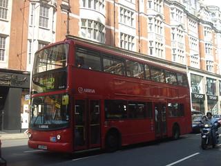 Arriva VLA10 on Route 2X, Kensington High Street