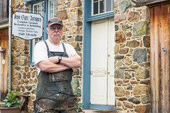 Bob McCan from Iron Gate Antiques and Restoration in Bluemont Virginia