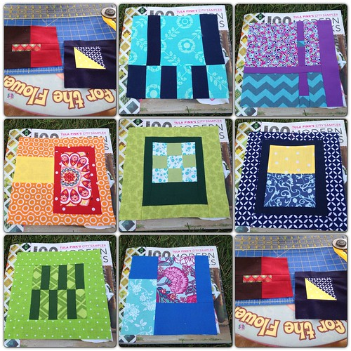 August City Sampler Blocks