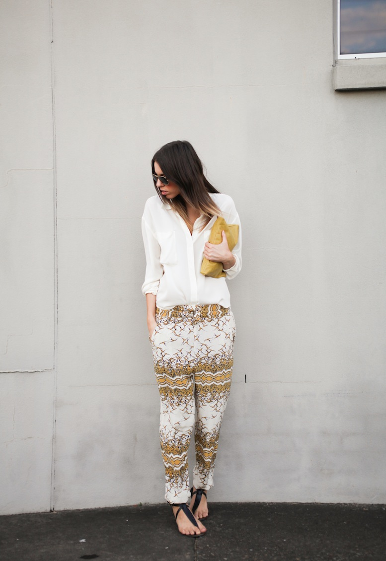 Modern Legacy fashion blog Australia Easton Pearson silk pants (2 of 5)