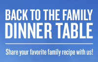 AmFam Back To The Family Dinnertable Logo