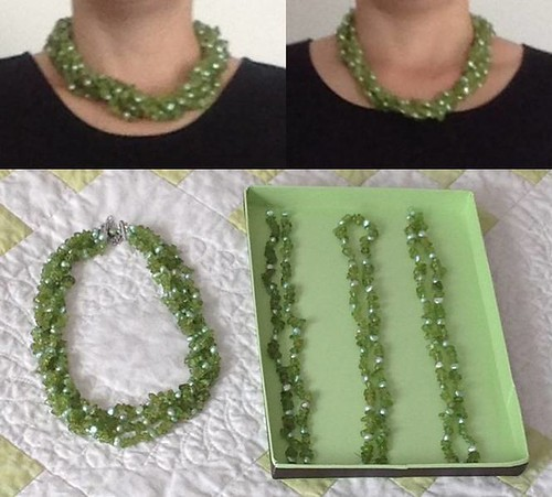 Peridot necklace fix