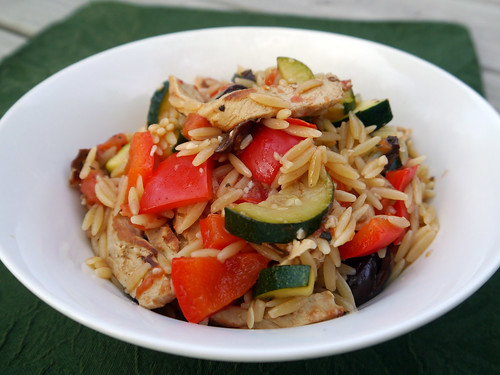 R is for Rosemary Vegan Chicken and Olive Orzo [Betty Goes Vegan] (0001)