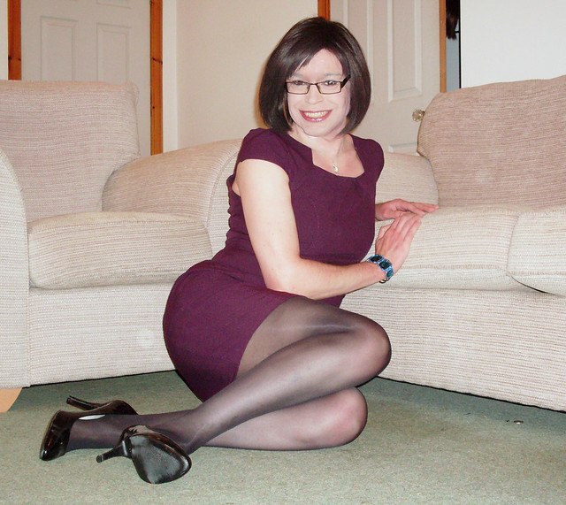 Are adorable tranvestites in pantyhose videos Woman!