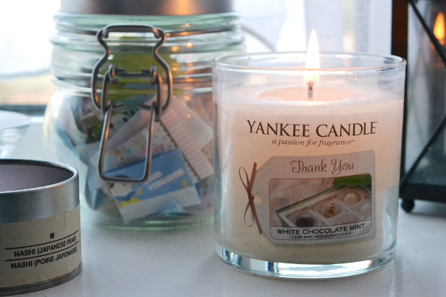 Daisybutter - UK Style and Fashion Blog: lifestyle, autumn photo diary, yankee candles, yankee candle white chocolate mint