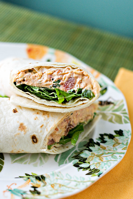Chicken Enchilada Wraps
