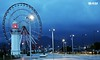 Lightouse and Ferris wheel by Photographer in Batumi - www.samsarkisyan.com
