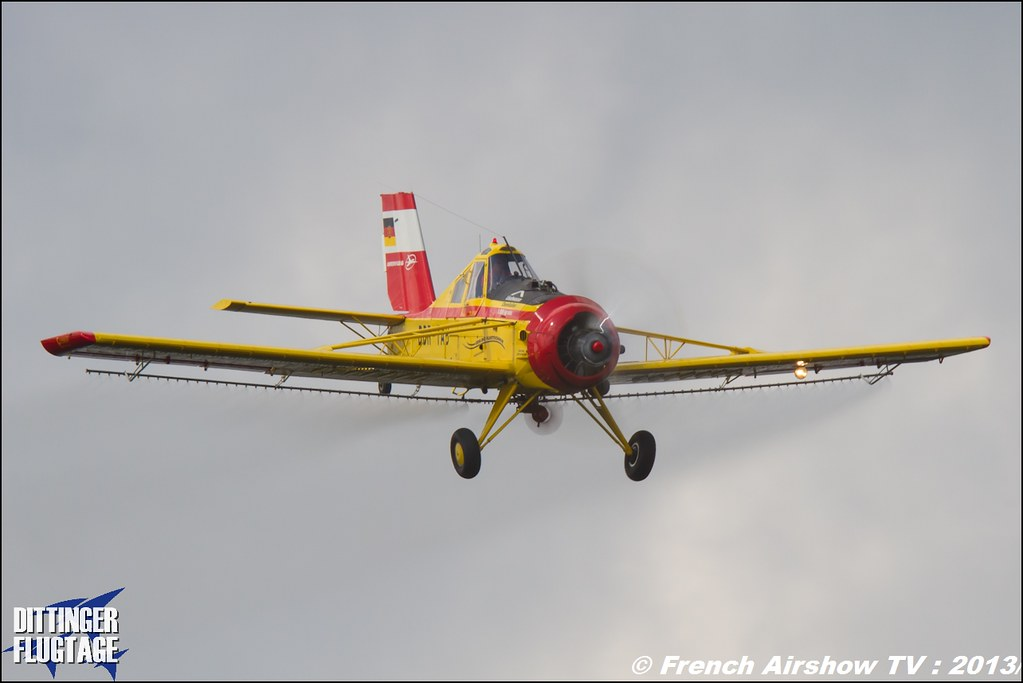 PZL 106 AR Le Tracteur volant at Dittinger Flugtage 2013